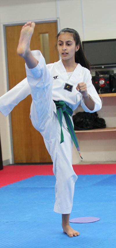 Taekwondo at our Martial Arts Hipperholme Centre